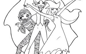 Coloriage A Imprimer Totally Spies.Totally Spies A Imprimer Coloriage Coloriage